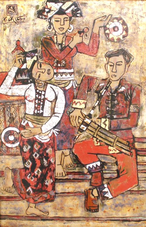 Vietnamese artist Le Xuan Chieu