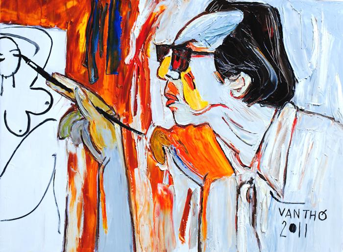 Vietnam Artist Van Tho
