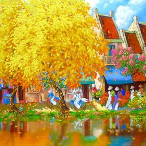 Autumn Season in Hanoi